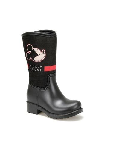 Mickey Mouse Yağmur Çizmesi Siyah